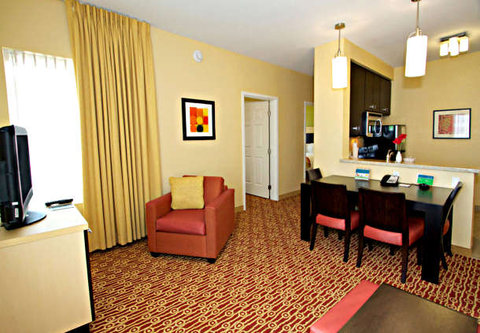 Towne Place Suites By Marriott Phoenix Goodyear Hotel - Two-Bedroom Suite Living Area