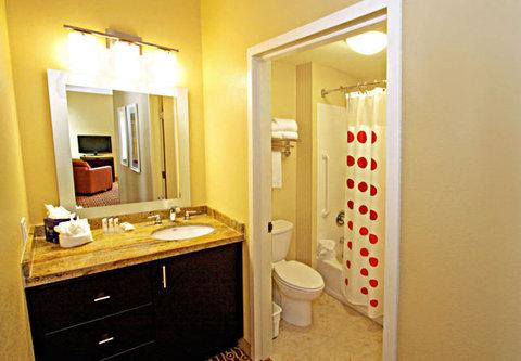 Towne Place Suites By Marriott Phoenix Goodyear Hotel - Two-Bedroom Suite Bathroom