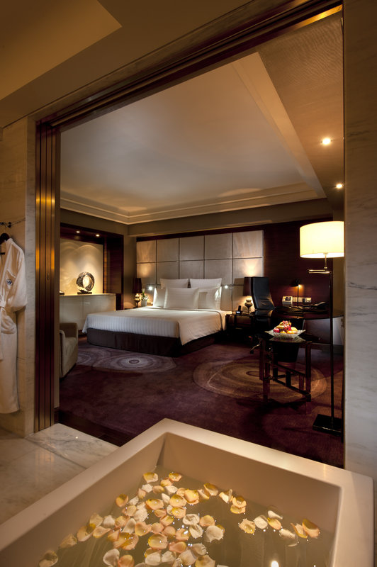 Hilton Shanghai Hongqiao Szobakilátás