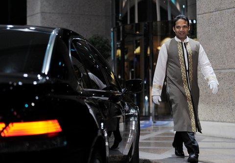 فندق ماريوت جي دبليو دبي - Entrance