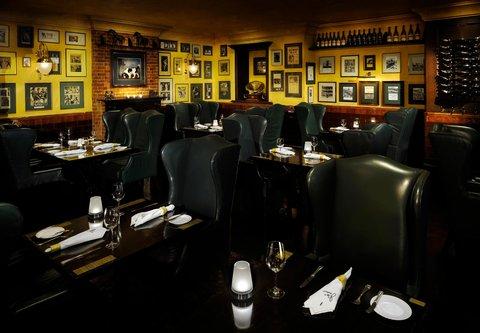 فندق ماريوت جي دبليو دبي - JW Steakhouse Dining Area