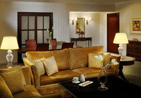 فندق ماريوت جي دبليو دبي - Amiri Suite Sitting Area