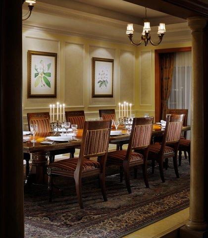 فندق ماريوت جي دبليو دبي - JW Royal Suite Dining Area