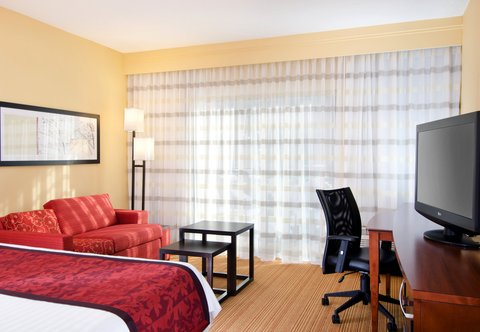 Courtyard By Marriott Kansas City Hotel - King Guest Room
