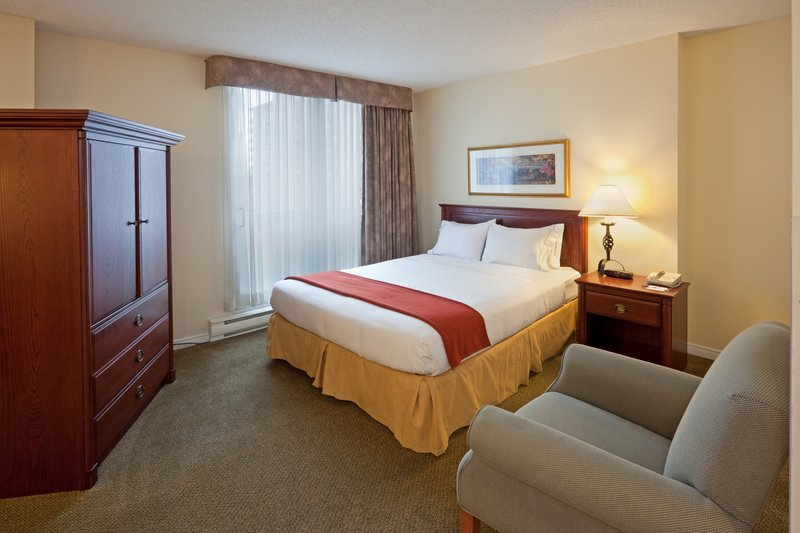 Holiday Inn Express Hotel & Suites Montreal Centre-Ville Vista do quarto