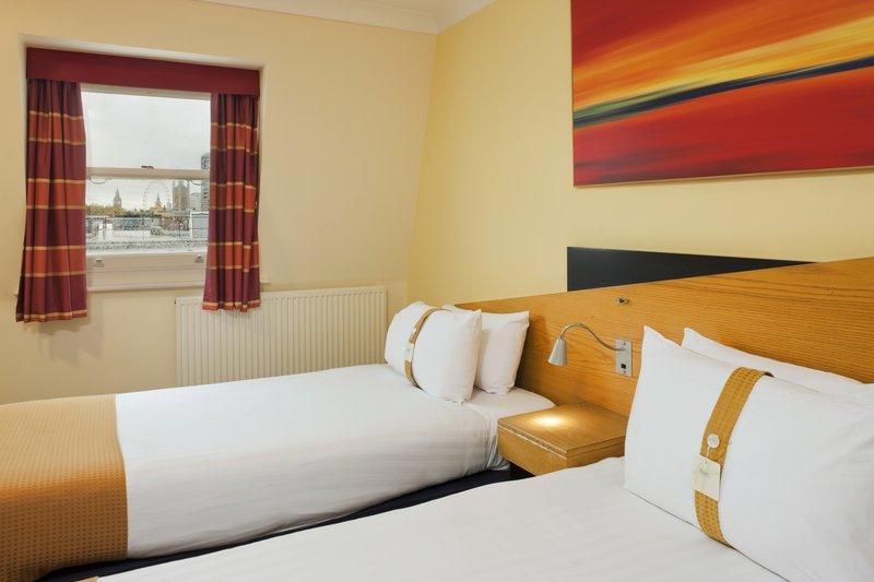 Holiday Inn Express London-Victoria Vista della camera