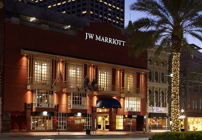 JW Marriott New Orleans 外観