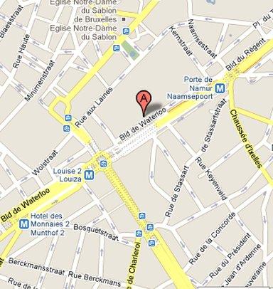 The Hotel Brussels - Hotelmap