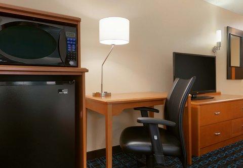 Fairfield Inn Longview Hotel - King Guest Room Amenities