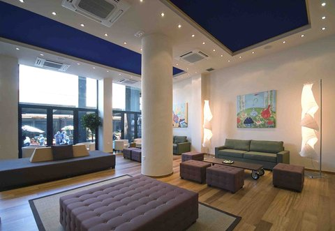 Athens Center Square Hotel - Lobby