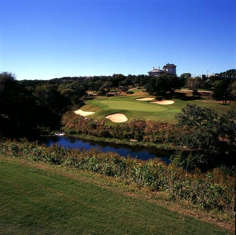 Omni Barton Creek Resort & Spa - Coore Crenshaw Course  Hole 18