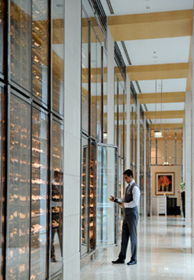 The Ritz-Carlton Dubai, International Financial Centre Lobby