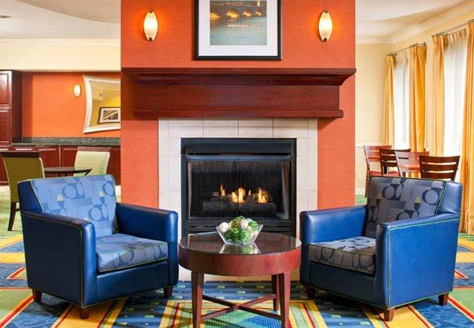 SpringHill Suites Herndon Reston Előcsarnok