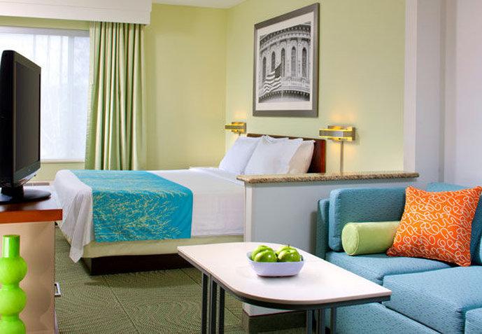 SpringHill Suites Herndon Reston Szobakilátás