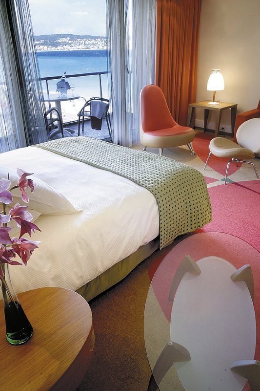 Radisson Blu Hotel Nice Szobakilátás