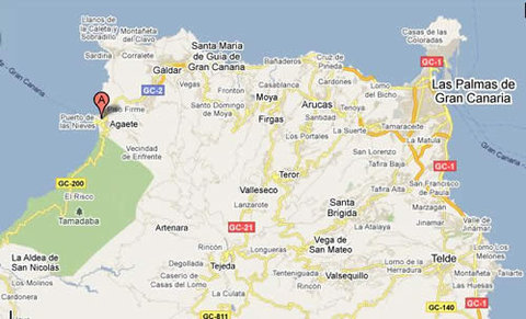 Roca Negra Hotel & Spa - Mapa