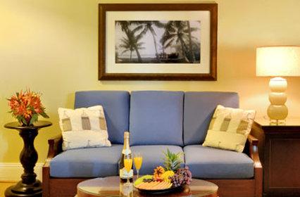 The Pier House Resort - New Spa Livingroom