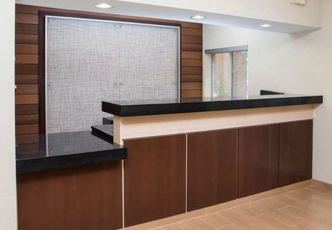 Fairfield Inn & Suites Dayton South - Front Desk