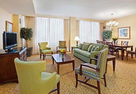 Chattanooga Marriott Downtown - Presidential Suite