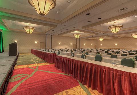 Chattanooga Marriott Downtown - Plaza Ballroom   Classroom Setup