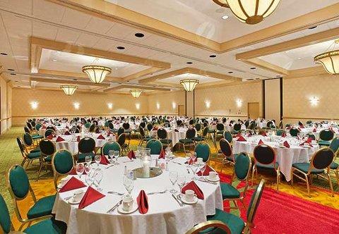 Chattanooga Marriott Downtown - Plaza Ballroom   Banquet Setup