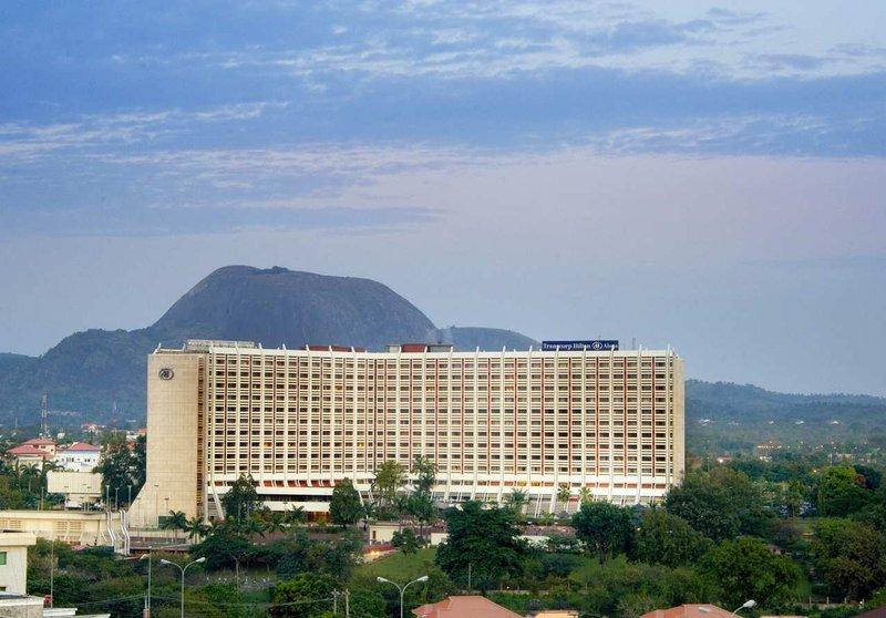 Transcorp Hilton Abuja Widok z zewnątrz