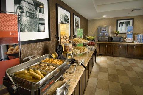 Hampton Inn Waco - Breakfast Area