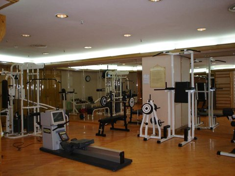 Hilton Alger - Fitness room and spa