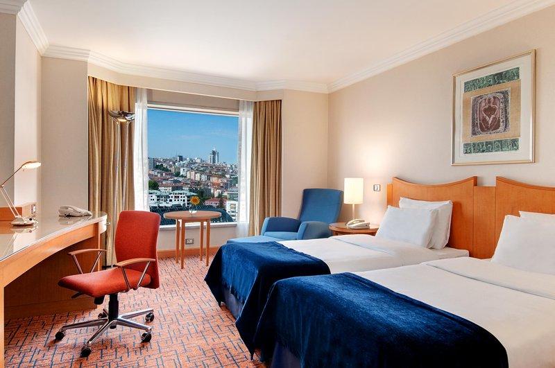 Ankara Hilton SA Hotel Szobakilátás