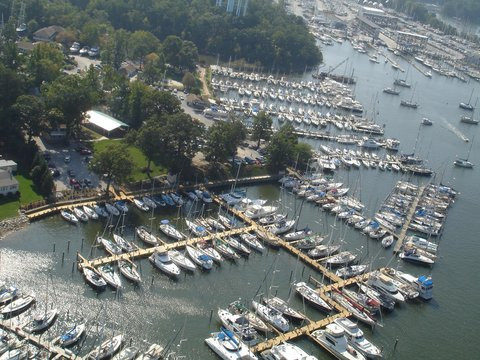 DoubleTree by Hilton Hotel Annapolis - Aerial View