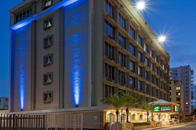 Holiday Inn Express San Juan Pohled zvenku