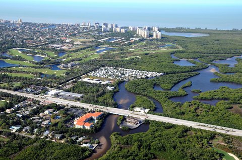 DoubleTree Suites by Hilton Naples - Aerial Photo