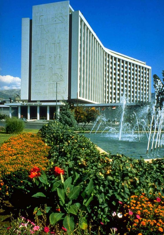 Hilton Athens Ulkonäkymä