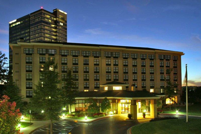Hilton Garden Inn Atlanta Perimeter Center Pohled zvenku