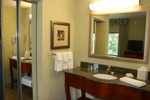 Hampton Inn - Suites Birmingham Airport Area AL - King Studio Bathroom