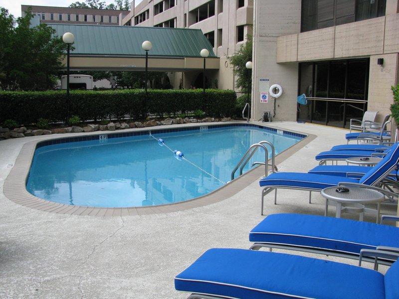 Doubletree Hotel Birmingham Kilátás a medencére