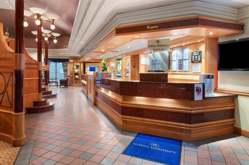 Hilton Bristol Hotel Lobby