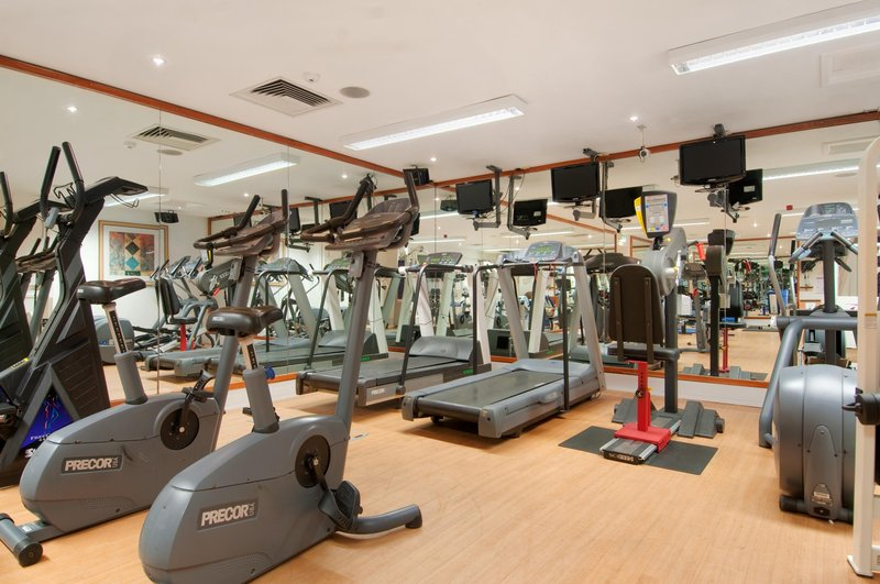 Hilton Bristol Hotel Fitness club