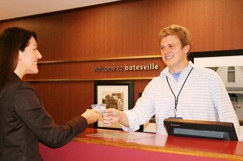Hampton Inn Batesville IN - Front Desk Check In