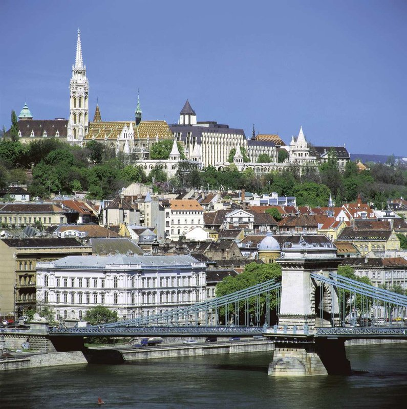 Hilton Budapest Pohled zvenku