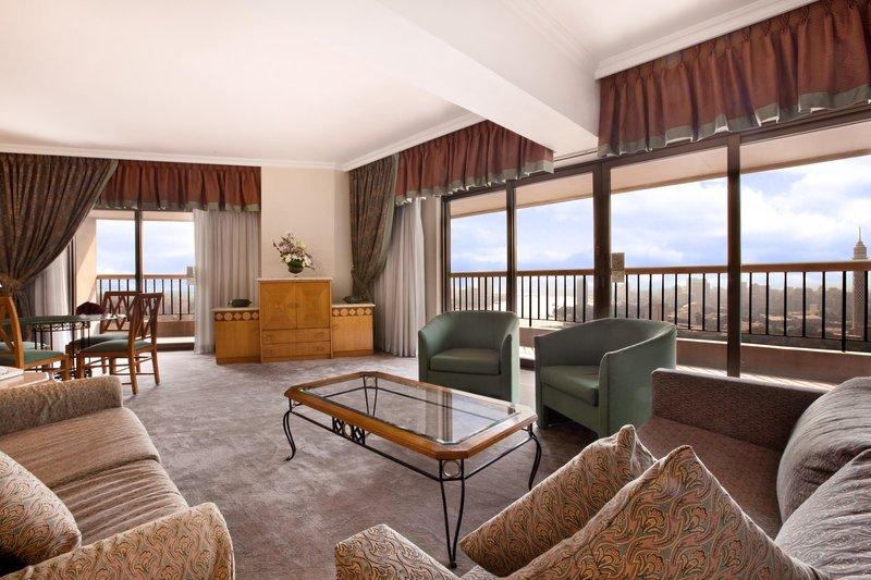 Ramses Hilton Vista de la habitación
