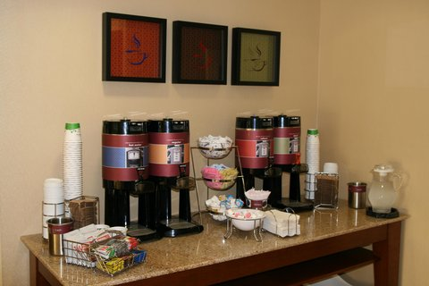 Hampton Inn Charlottesville - 24 Hour Coffee Station