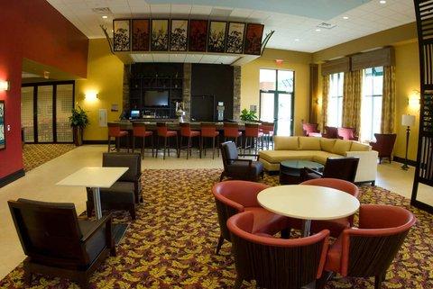 Embassy Suites Columbus - Airport - Atrium Lounge