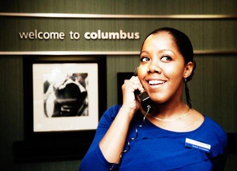 Hampton Inn Columbus - Friendly Reception