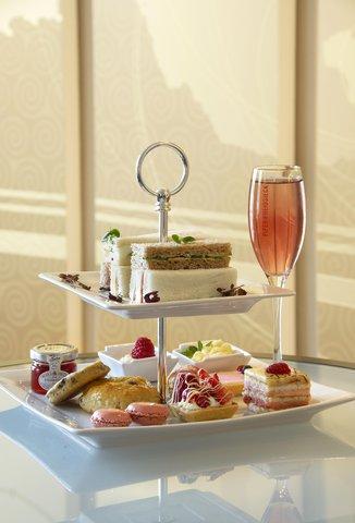 加的夫希尔顿酒店 - Pink Afternoon Tea