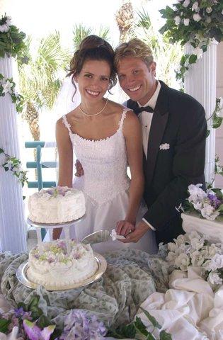 Hilton Daytona BeachResort-Ocean Walk Village - Wedding Cake
