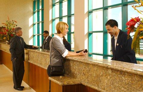 Hilton Daytona BeachResort-Ocean Walk Village - Front Desk Check In