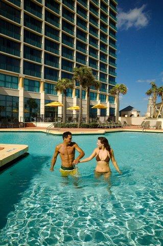 Hilton Daytona BeachResort-Ocean Walk Village - Guests in Pool