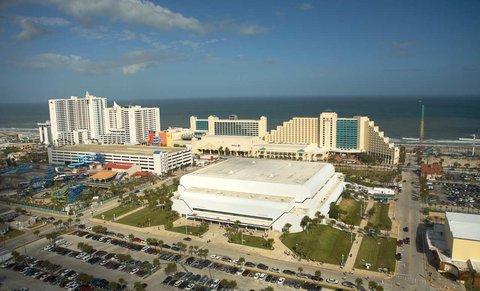 Hilton Daytona BeachResort-Ocean Walk Village - Hotel   Ocean Center View