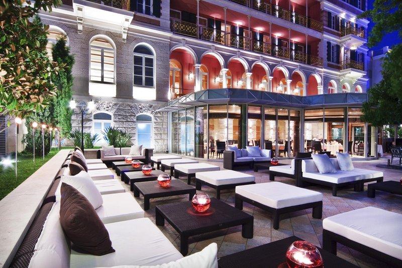 Hilton Imperial Dubrovnik バー/ラウンジ
